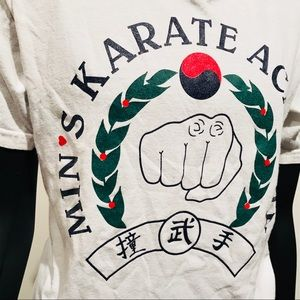 Vintage Karate Tshirt Youth Large/ Adult Small
